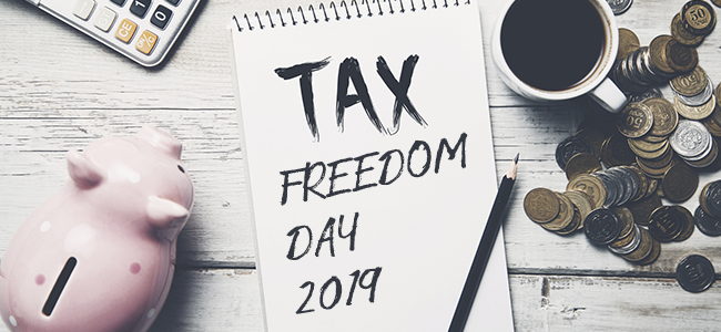 How Many Days Did You Work For The Taxman In 2019?